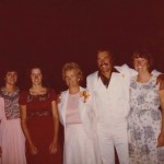 Wedding Day Aug 3 1979 Kathy Elaine Mom Milly Joel Geri