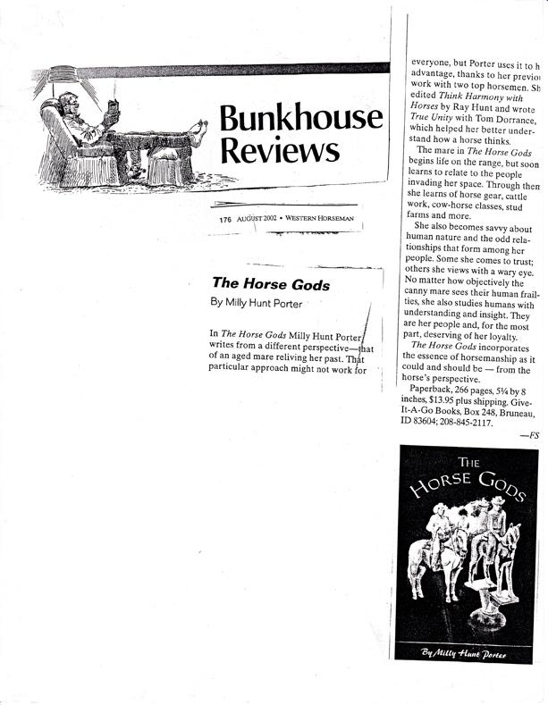 bunkhousehorsegodreview